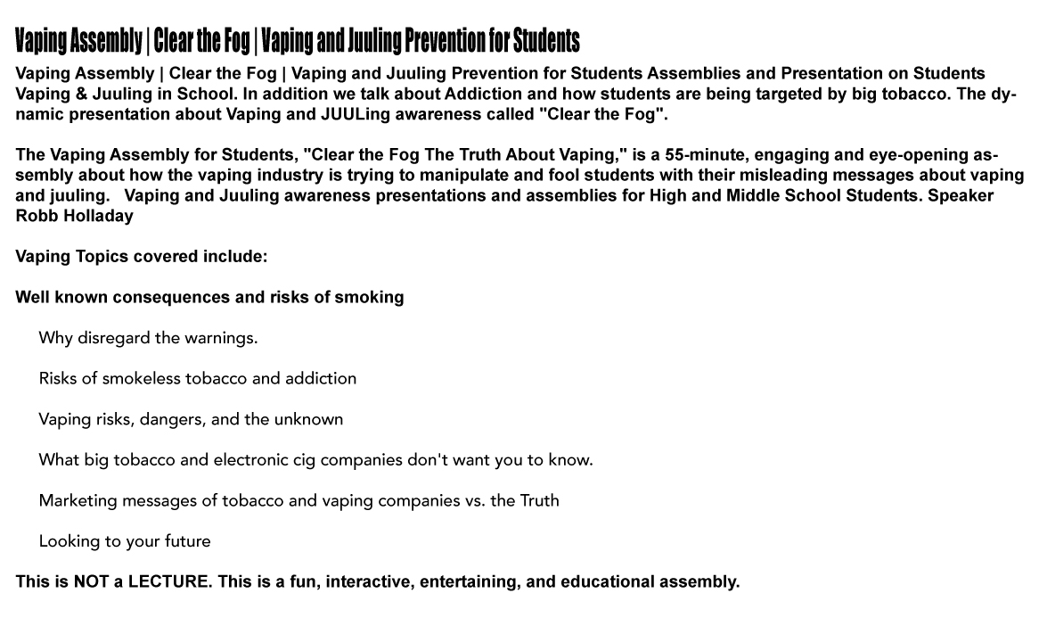 VAPING-TOPICS